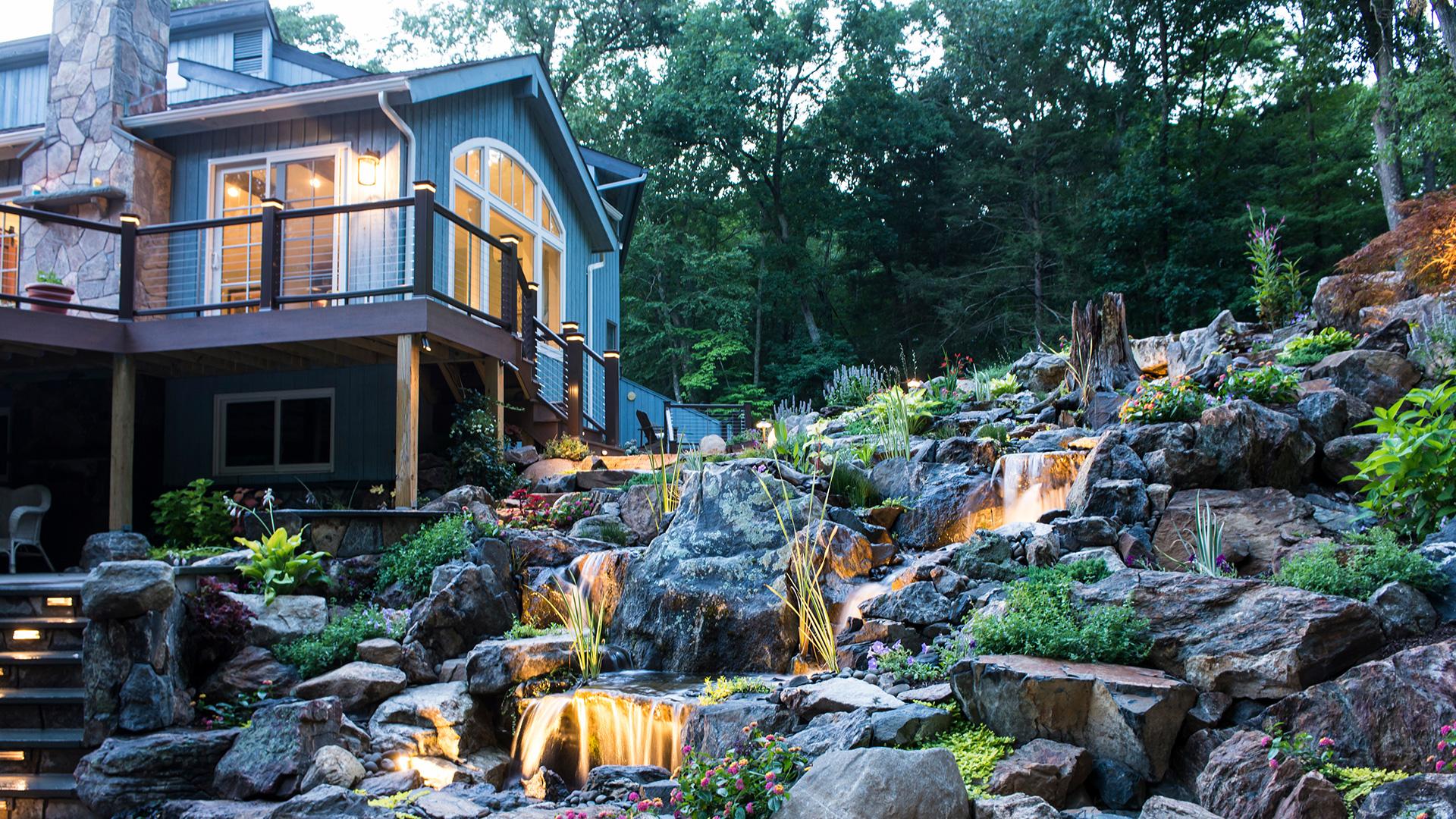 AquaScapes East Landscaping, Pond Contractor and Landscape Design slide 3